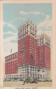 Hotel Fort Shelby Detroit Michigan 1933