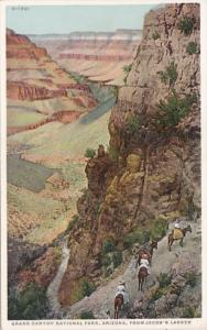 Arizona Grand Canyon From Jacob's Ladder Fred Harvey Detroit Publishing