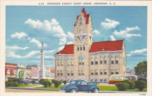 Anderson County Court House Anderson South Carolina