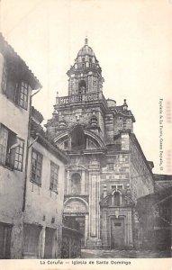la Coruna Iglesia de Santo Domingo Spain Unused