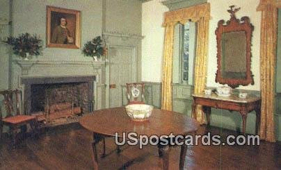 Chinese Chippendale Room, Gunston Hall - Fairfax County, Virginia