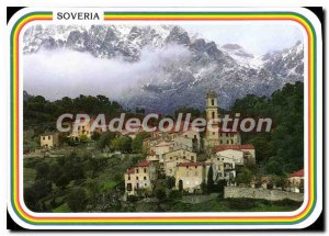 Postcard Modern Soveria The Village At The Foot Of Needles Popolusca