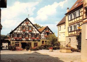 Weikersheim an der Romantischen Strasse, Weinmarkt und Bastion