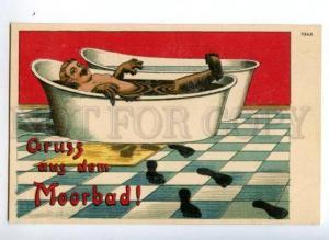 3148998 GRUSS Aus MOORBAD Greetings from PEAT BATH Vintage PC
