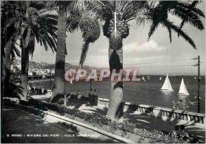 Postcard Modern Remo Riviera Dei Fiori Viale Imperatrice