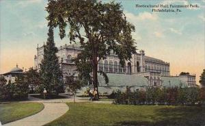Pennsylvania Philsdelphia Horticultral Hall Fairmount Park 1916