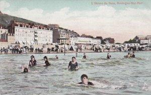 BOULOGNE-SUR-MER , France , 00-10s ; L'Heure du Bain