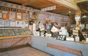 USA Calico Print Shop, Calico Ghost Town California