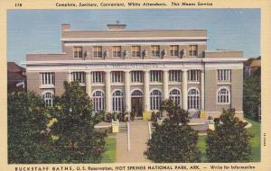 HOT SPRINGS National Park, Arkansas, 1930-40s; Buckstaff Baths, US Reservation
