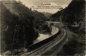 CPA L'Auvergne - Vallée de la DORE - Vue de la ligne du Chemin de Fer.. (244688)
