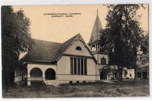 Congregational Church, Garnett KS