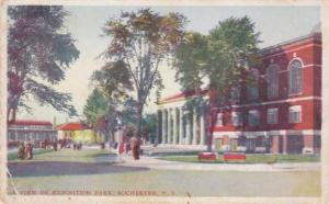 View at Exposition (Edgerton) Park - Rochester, New York - WB