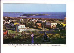 View from Martello Tower, Saint John, New Brunswick,