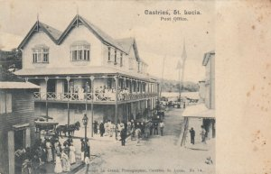 CASTRIES , ST. LUCIA , 00-10s ; Street View at Post Office