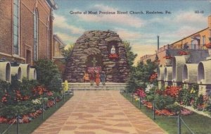 Grotto Of Most Precious Blood Church Hazleton Pennsylvania