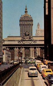 NY - New York City. Grand Central Station, Traffic