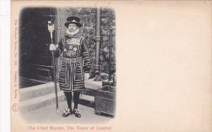 England London Tower Of London The Chief Yeoman Warder