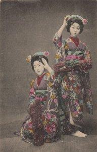 Japan , 1908 ; 2 Japanese women