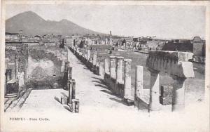 Italy Pompei Foro Civile