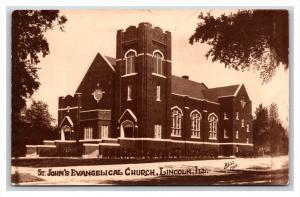 Illinois Lincoln  St.John's Evangelical Church  RPC