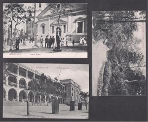 Gibraltar Barracks, Market Garden Street 4 bw 1910 PPCs