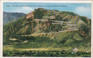 Colorado Colorado Springs Broadmoor-Cheyenne Mountain Highway