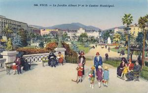 Le Jardin Albert 1er Et Le Casino Municipal, Nice (Alpes Maritimes), France, ...