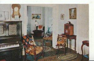 America Postcard - Dwight D Eisenhowers Sitting Room - Abilene - Kansas - TZ7924