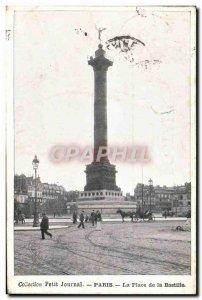 Old Postcard Collection Diary Paris Place De La Bastille