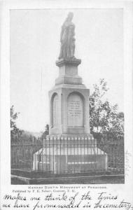 New Hampshire Concord,  Hanna Dustin Monument at Penacook