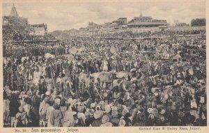 JAIPUR , India , 00-10s ; Sun procession