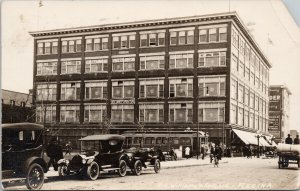 Regina SK RH Williams & Sons Building Streetcar c1918 RPPC Postcard G71 *As is