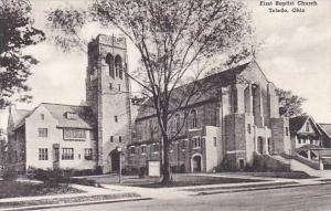 Ohio Toledo First Baptist Church-Albertype