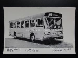 BUS: WATFORD SNB449 Pamlin Print Postcard No.L2515