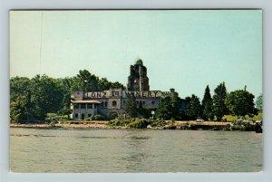 Lake Erie Islands OH- Ohio, Lonz Winery, Middle Bass Island, Chrome Postcard
