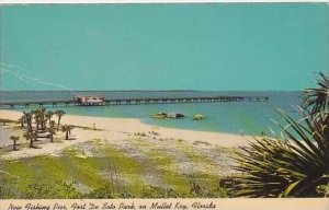 Florida Fort De Soto Park Can Be Reached Via Bayway From The Mainland To Mull...