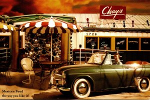 Advertising Chuy's Mexican Restaurant Texas