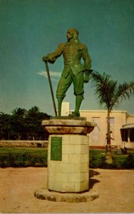 Curacao Statue Of Former Governor Of New York Peter Stuyvesant On Stuyvesant ...