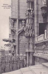 Dettaglio Del Duomo, Milano (Lombardy), Italy, 1900-1910s