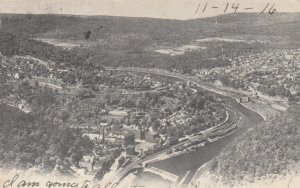 MAUCH CHUNK, Pennsylvania, PU-1904; Bird's Eye View from the Flag Staff