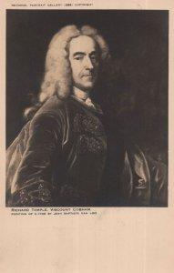 Richard Temple Viscount Of Cobham Old Postcard