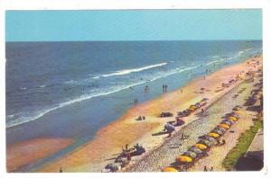 Looking South Down The Golden Strand At Myrtle Beach, South Carolina, PU-1970