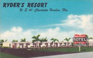 Florida Charlotte Harbor Ryders Resort
