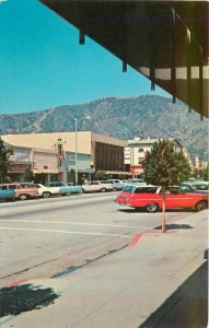 Automobiles Business Shopping Glendora California Postcard Columbia 20-9792