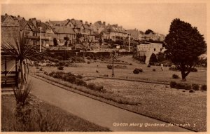 Queen Mary Gardens,Falmouth,England,UK