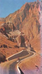Vintage Argentina Postcard Polvaredas Stunning Landscape on Route 7 to Chile 3A