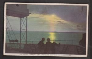 The End Of A Perfect Day, Thousand Islands, Ontario - Used 1930 - Some Wear