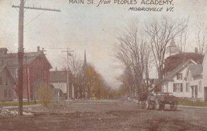 MORRISVILLE , Vermont , 1914 ; Main Street