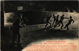 CPA Voyage de Mimi a Pasia - Mimi volt des manifestants et va (518235)