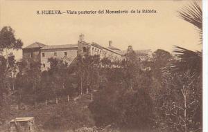 Spain Huelva Vista Posterior del Monasterio de la Rabida